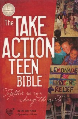 The NKJV Take Action Bible, Teen Edition--softcover   -