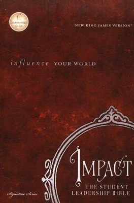The NKJV Impact Student Leadership Bible, hardcover   -