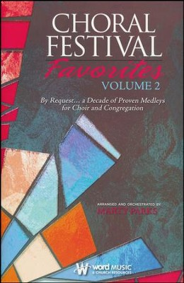 Choral Festival Favorites, Volume 2 Choral Book   -     By: Marty Parks