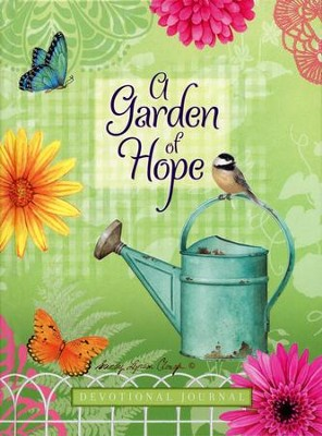 A Garden of Hope: Devotional Journal  -     By: Sandy Lynam Clough