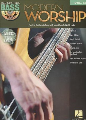 Modern Worship (Bass Play-Along Book/CD)   -