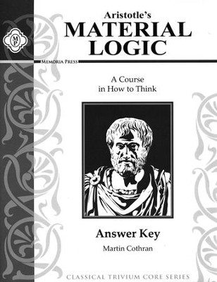 Material Logic Book 1 Answer Key 2nd Edition   -     By: Martin Cothran