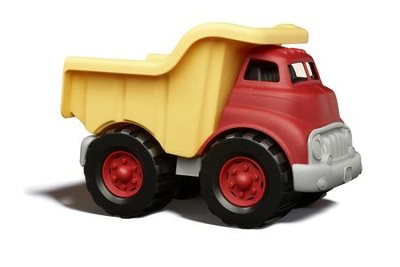 Dump Truck, Red and Yellow  -