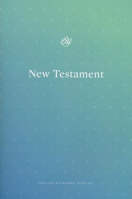 ESV Outreach New Testament, Softcover, Blue  -
