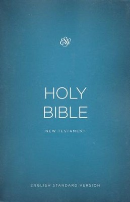 The ESV Outreach New Testament, softcover , Case of 100   -