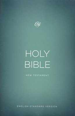 ESV Outreach New Testament, Softcover, Green  -