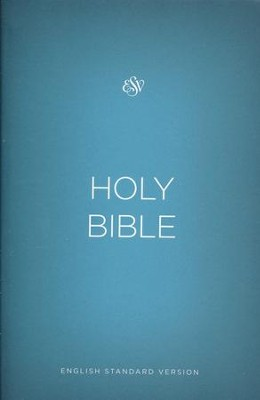 ESV Outreach Bible, Softcover, Blue  -