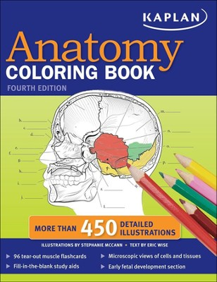 Kaplan Anatomy Coloring Book, Fourth Edition   -     By: Stephanie McCann, Wise