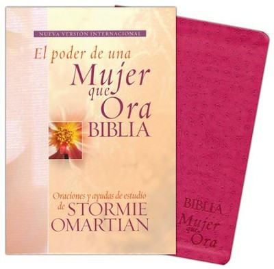 Biblia el Poder de Una Mujer Que Ora NVI, Piel Imitada  (The Power Of A Praying Woman NIV Bible, Imit. Leather)  -     By: Stormie Omartian