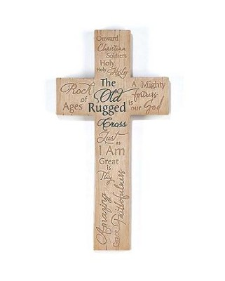 The Old Rugged Cross Wall Cross  -