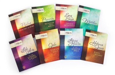 The Passion Translation: 8 Volume Boxed Set   -     Translated By: Brian Simmons     By: Brian Simmons, trans.