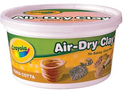Crayola, Air-Dry Clay Resealable, Terra Cotta, 2.5 Lb.  -