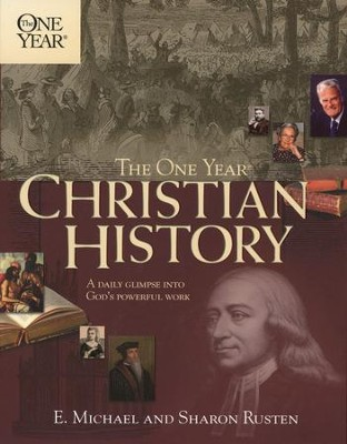 The One-Year Book of Christian History  - Slightly Imperfect  -