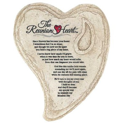 Reunion Heart Stepping Stone  -