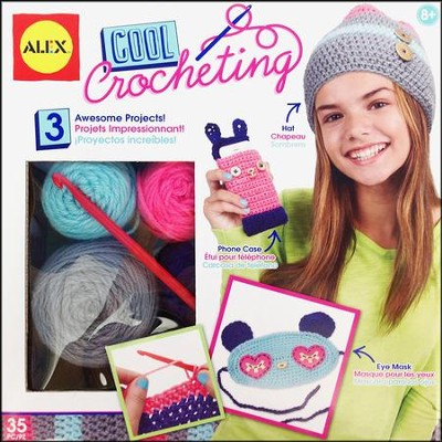 Cool Crocheting Kit  -
