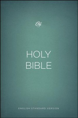 ESV Outreach Bible, Softcover, Green  -