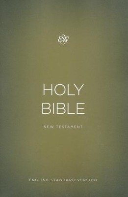 ESV Outreach New Testament, Softcover, Gold  -