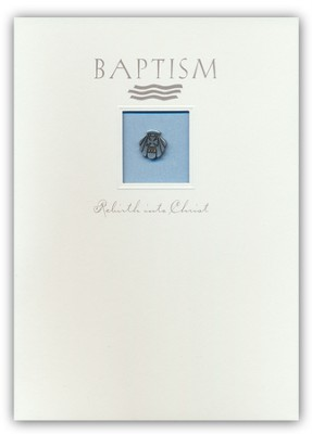 Baptism Greeting Card and Lapel Pin   -     By: Kathy Bernu
