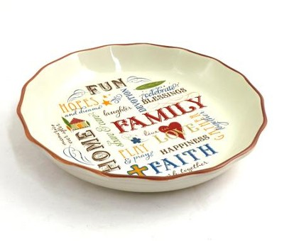 Family Pie Plate  -