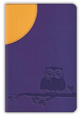 ESV Compact Bible, TruTone, Moonlight Owl, Purple  -