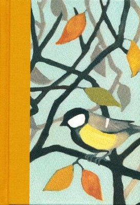 ESV Large Print Compact Bible (Autumn Song), Multicolor Hardcover  -