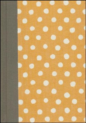 ESV Large Print Compact Bible (Cloth over Board, Polka Dots), Multicolor  -