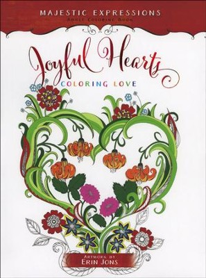 Joyful Hearts: Coloring Love  -