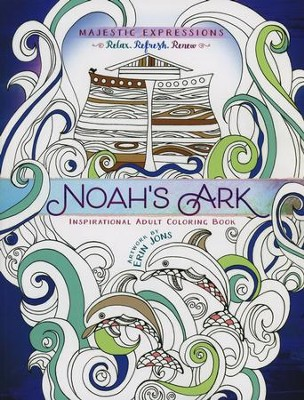 Noah's Ark: Inspirational Adult Coloring Book   -     By: Erin Jons