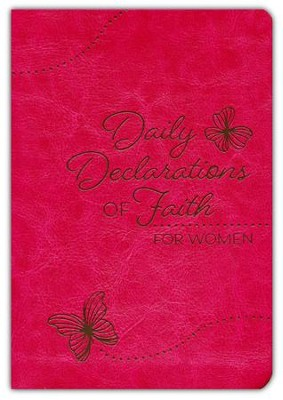 Daily Declarations of Faith: for Women  -     By: Joan Hunter