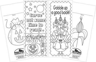 Celebrate Autumn Bookmark Set (2 Designs)   -