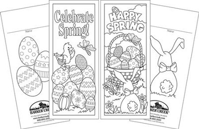 Celebrate Spring Bookmark Set (2 Designs)   -