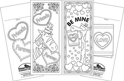 Celebrate Valentine's Day Bookmark Set (2 Designs)   -
