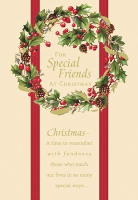 for special friends at christmas cards box of 18