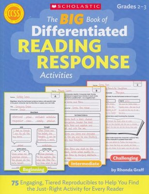 The BIG Book of Differentiated Reading Response Activities  -     By: Rhonda Graff