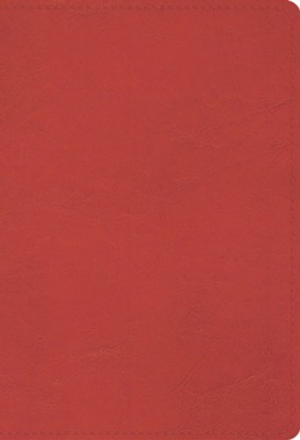 ESV Student Study Bible, Imitation Leather, Coral   -