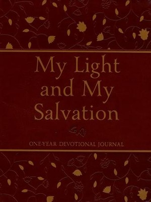 My Light and My Salvation: One-Year Devotional Journal  -     By: Mark DuPre