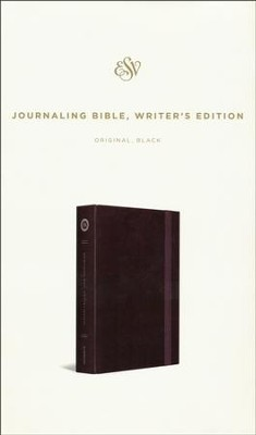 ESV Journaling Bible, Writer's Edition, Black   -