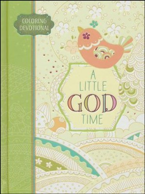 A Little God Time Coloring Devotional   -