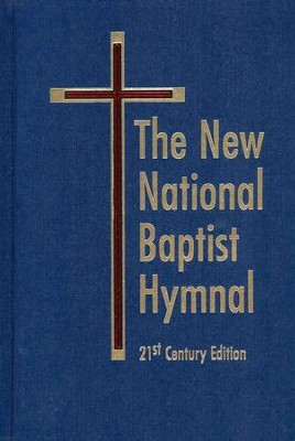 The New National Baptist Hymnal 21st Century Edition Blue  -