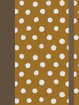 ESV Single Column Journaling Bible (Cloth over Board, Polka Dots)  -