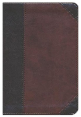 ESV Personal Reference Bible (TruTone, Brown/Walnut, Portfolio Design), Imitation Leather, Brown  -