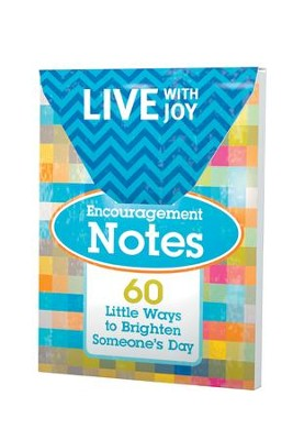 Live With Joy Encouragement Notes  -