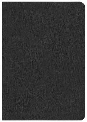 ESV Study Bible, CBD Exclusive Edition; Black Genuine  Leather with Thumb Index  -