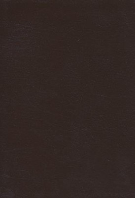 ESV Study Bible, CBD Exclusive Edition; Mahogany Brown  Genuine Leather with Thumb Index  -