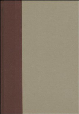 ESV Study Bible, Large Print (Cloth over Board, Timeless), Tan/Light brown  -