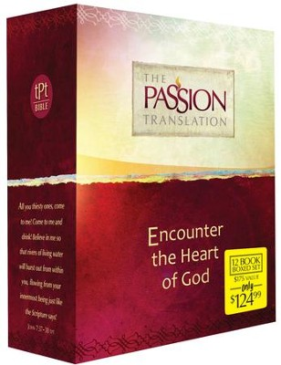 The Passion Translation: 12 Volume Boxed Set  -     By: Brian Simmons
