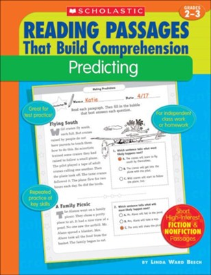 Reading Passages That Build Comprehension: Predicting  -     By: Linda Ward Beech