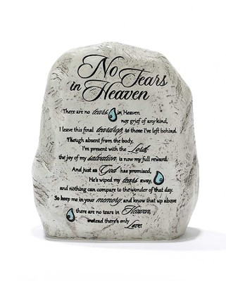 No Tears in Heaven Garden Rock  -