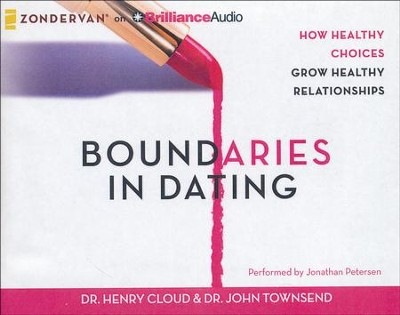 Boundaries in Dating, Unabridged Audio CD   -     Narrated By: Jonathan Petersen     By: Dr. Henry Cloud, Dr. John Townsend