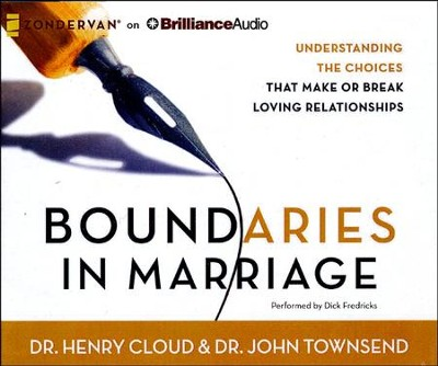 Boundaries in Marriage - unabridged audiobook on CD  -     Narrated By: Henry Cloud     By: Henry Cloud, Dr. John Townsend